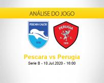 Prognóstico Pescara Perugia (10 julho 2020)