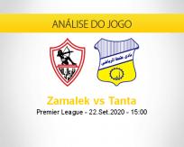 Prognóstico Zamalek Tanta (22 setembro 2020)