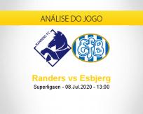 Prognóstico Randers Esbjerg (08 julho 2020)