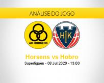 Prognóstico Horsens Hobro (08 julho 2020)