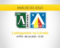 Prognóstico Ludogorets Levski Sofia (08 julho 2020)