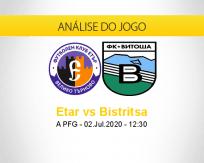 Etar vs Vitosha Bistritsa