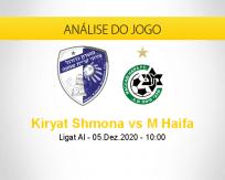Prognóstico Kiryat Shmona M Haifa (05 dezembro 2020)