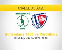 Prognóstico Bohemians 1905 Pardubice (05 dezembro 2020)