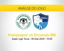 Prognóstico Konyaspor Erzurum BB (05 dezembro 2020)