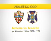 Almería vs Tenerife