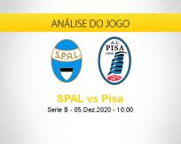 Prognóstico SPAL Pisa (05 dezembro 2020)