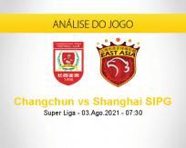 Prognóstico Changchun Shanghai SIPG (03 agosto 2021)