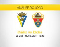 Prognóstico Cádiz Elche (16 maio 2021)