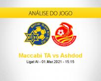 Prognóstico Maccabi TA Ashdod (01 março 2021)