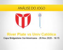 River Plate vs Univ Católica