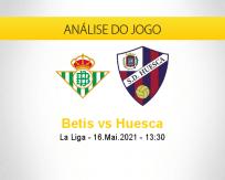 Prognóstico Betis Huesca (16 maio 2021)