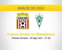 Prognóstico Curicó Unido Wanderers (02 agosto 2021)