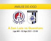 Prognóstico A San Luis Querétaro (02 agosto 2021)
