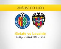 Prognóstico Getafe Levante (16 maio 2021)