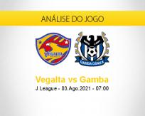 Prognóstico Vegalta Gamba (03 agosto 2021)