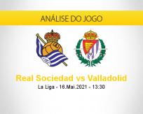 Prognóstico Real Sociedad Valladolid (16 maio 2021)