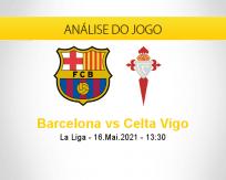 Prognóstico Barcelona Celta Vigo (16 maio 2021)
