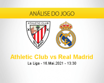 Prognóstico Athletic Club Real Madrid (16 maio 2021)