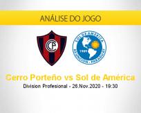 Cerro Porteño vs Sol de América