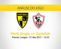 Prognóstico Wadi Degla Zamalek (01 março 2021)