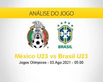 Prognóstico México U23 Brasil U23 (03 agosto 2021)