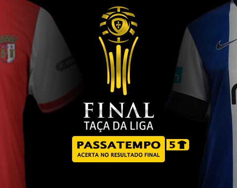 Acerta no resultado do Braga vs Porto e ganha uma tshirt