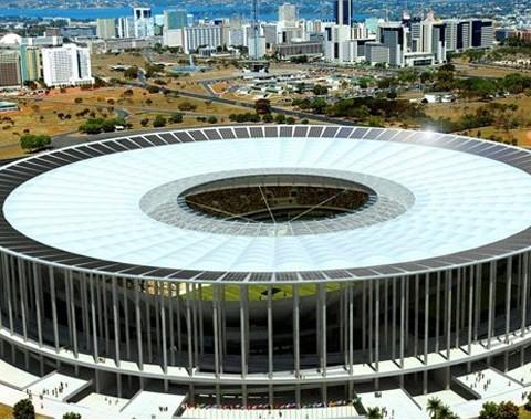 Estádio Nacional, Brasília - Estádios do Mundial Brasil 2014