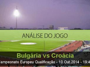 Análise do jogo: Bulgária vs Croácia  (10 Outubro 2014)