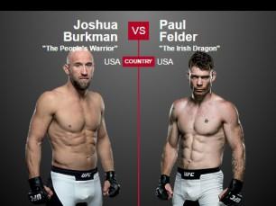 Análise: Josh Burkman vs Paul Felder (UFC - 29 maio 2016)
