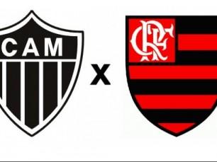 Atlético Mineiro vs Flamengo - Aposta sem risco de R$50
