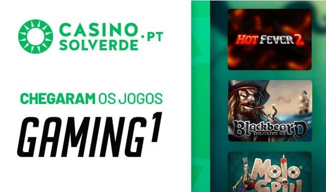 Jogadas grátis com as novas slots Casino Solverde