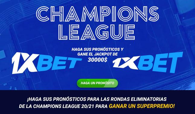 Liga de Campeones: Predecir y ganar 30.000$