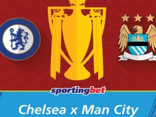 Chelsea vs Manchester City - ganha mais com José Mourinho