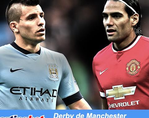 City e United marcam e tu ganhas até 100% com os golos em Manchester