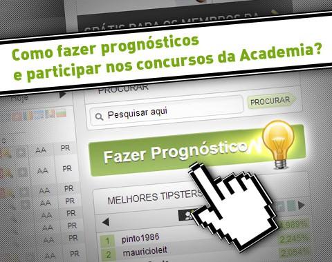 Como fazer prognósticos e participar nos concursos da Academia?