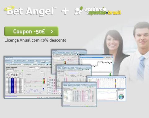 Software de trading BetAngel Profissional com desconto para os membros da Academia