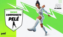Craque Pelé signs agreement with Epic Games