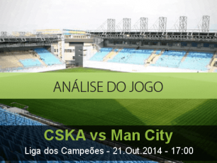 Análise do jogo: CSKA Moscovo vs Manchester City  (21 Outubro 2014)
