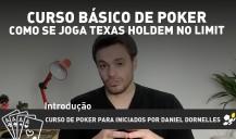 Curso básico de Poker, como se joga Texas Holdem No Limit – introdução