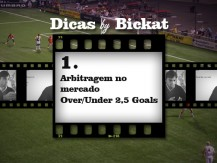 Arbitragem no mercado Over/Under 2,5 Goals