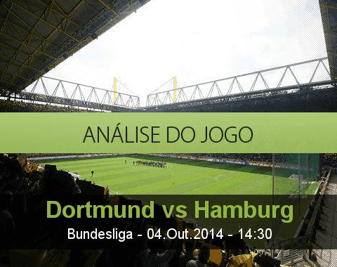 Análise do jogo: Borussia Dortmund vs Hamburger SV (4 Outubro 2014)