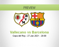 Vallecano vs Barcelona