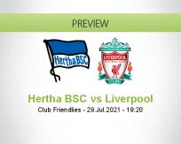 Hertha BSC vs Liverpool