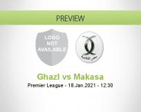 Ghazl vs Makasa