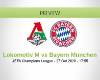 Lokomotiv Moskva vs Bayern München