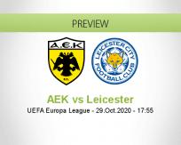 AEK Athens vs Leicester City