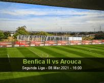 Benfica II Arouca betting prediction (09 March 2021)