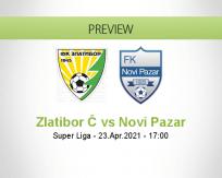 Zlatibor Č Novi Pazar betting prediction (23 April 2021)