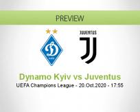 Dynamo Kyiv Juventus betting prediction (20 October 2020)
